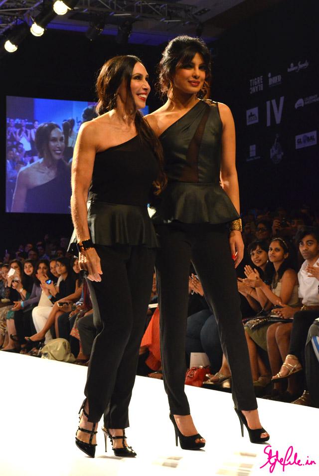 lakme fashion week michele bohbot priyanka chopra bisou bisou