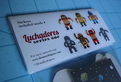 Limited Edition luchadores series 1