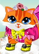 Смешная кошка - Онлайн игра для девочек