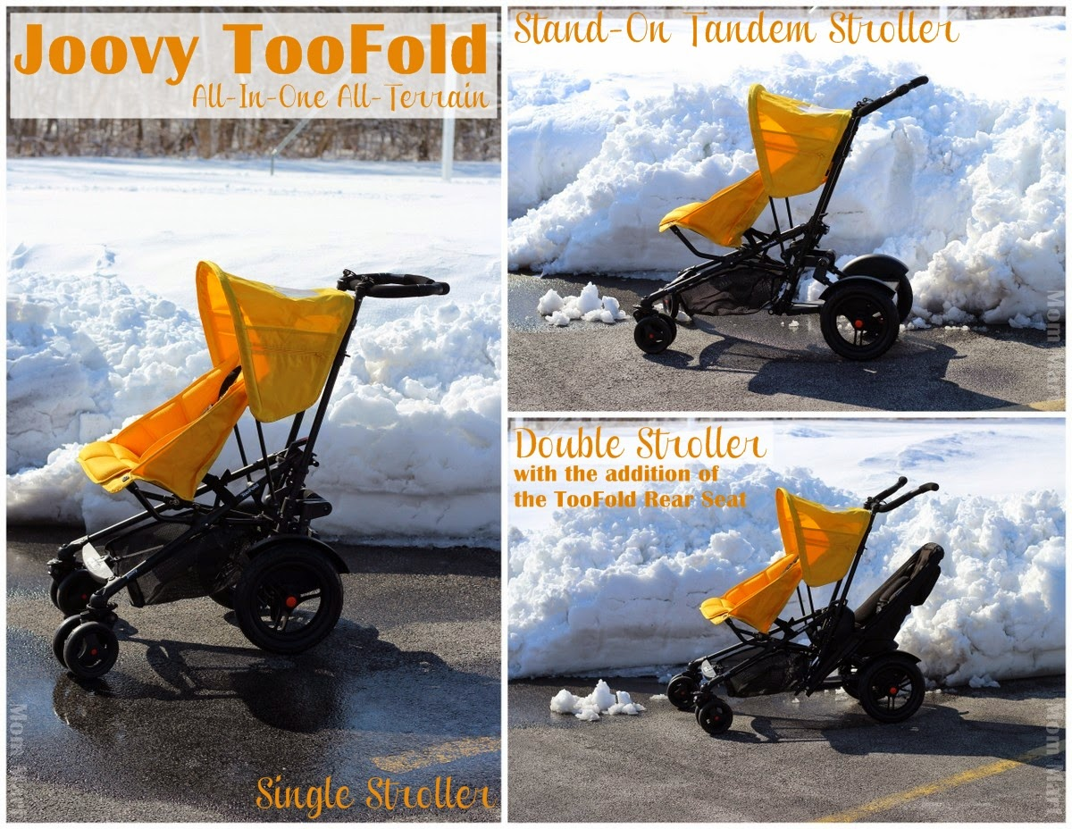 Joovy TooFold Stroller all-in-on stroller #review