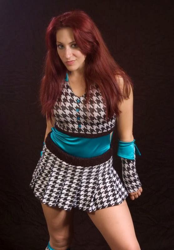 Veda Scott, female wrestler, wrestling, women wrestling, women's pro wrestling