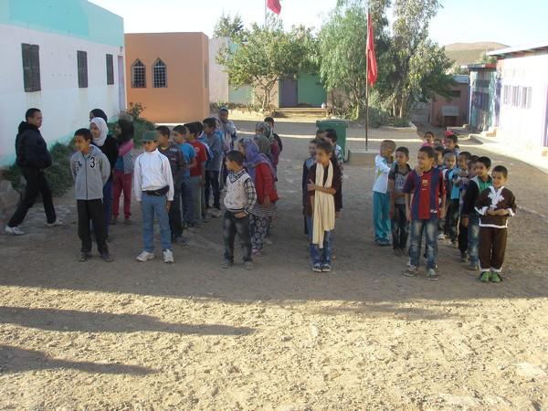 م م تركى وساي نيابة كلميم تحتفل باليوم الوطني للتعاون المدرسي