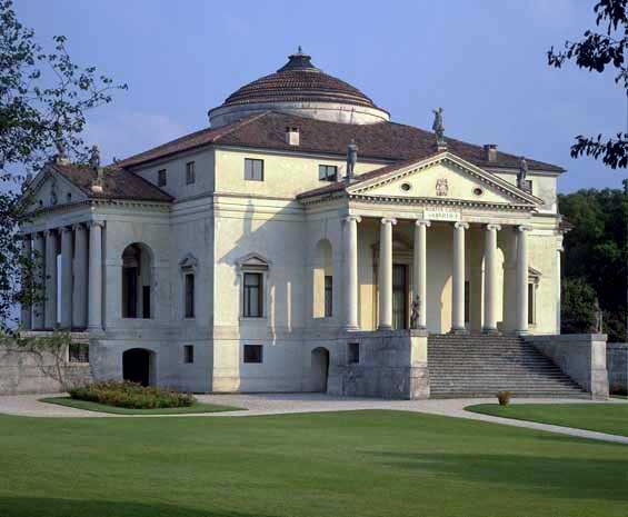 The Italian Renaissance Villa La Rotonda 1591 Vicenza Italy Andrea Palladio Is Often Considered Model For Best Style Has To Offer