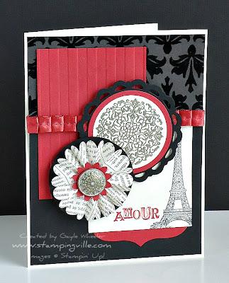 Vintage Inspired Valentine's Day Card Idea