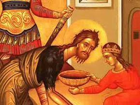 The Vicar's latest blog - John the Baptist a really important message