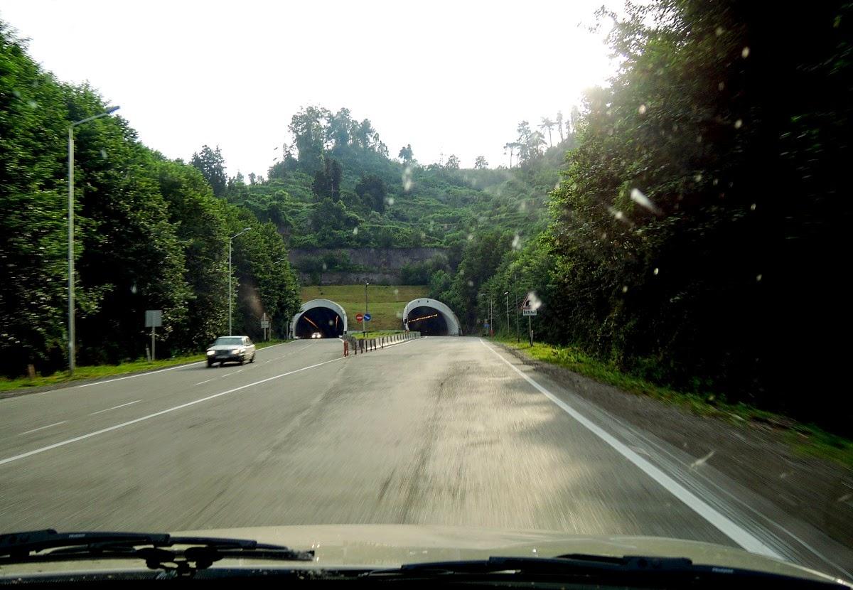 тоннель на Рикотском перевале
