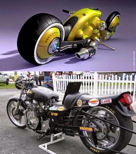 Motor Futuristik