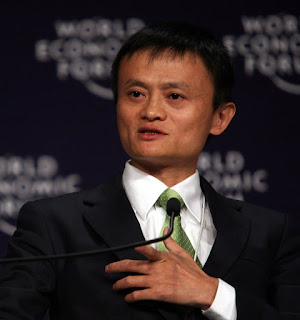 Jack Ma or Ma Yun, Founder and Chairman of Alibaba Group