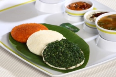 Independence Day Celebrations with Tri-color Idlis at Vaango