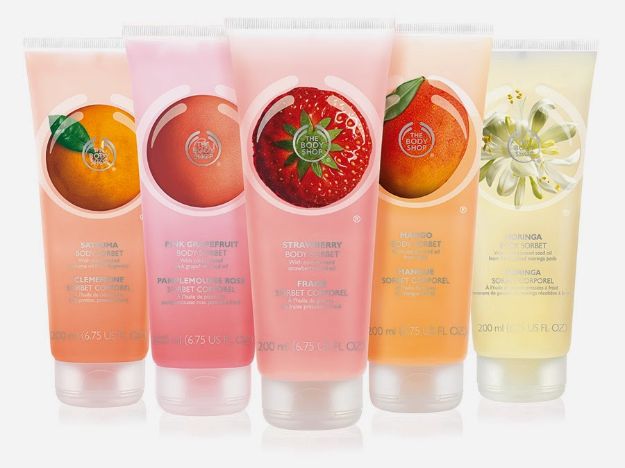 Hidratación y frescor con Body Sorbet