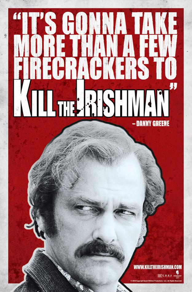 JONATHAN HENSLEIGH'S KILL THE IRISHMAN CHARACTER BANNERS ...