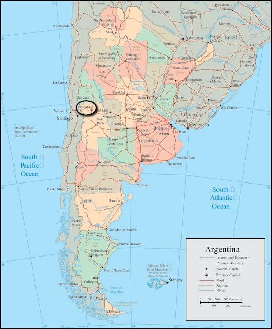 Swinging in mendoza argentina