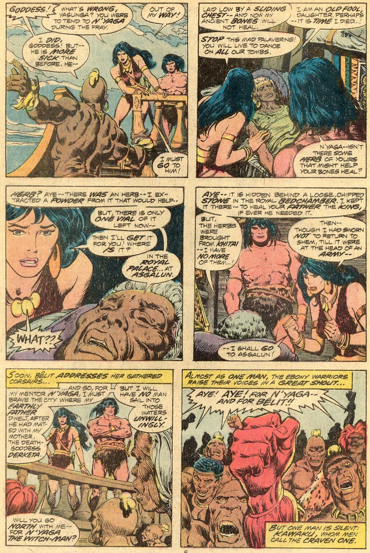 Conan the Barbarian (1970) Issue #72 #84 - English 5