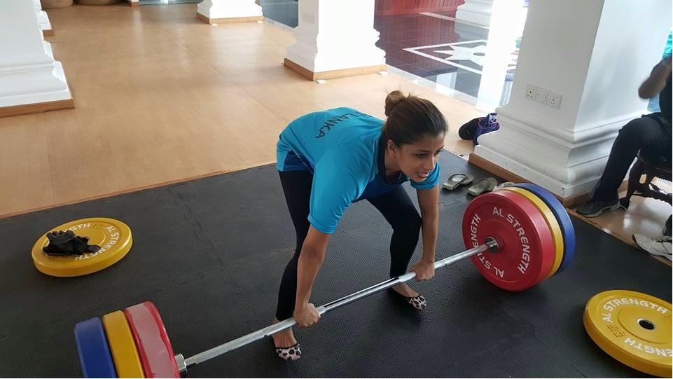 Nadeesha Hemamali gym
