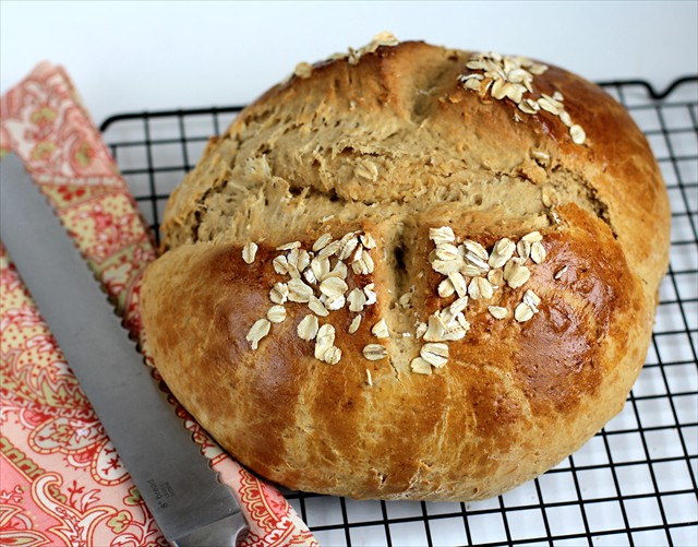 HONEY OAT QUICK BREAD - Butter With a Side of Bread