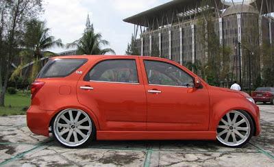 Mobil Modifikasi Ceper Toyota Rush