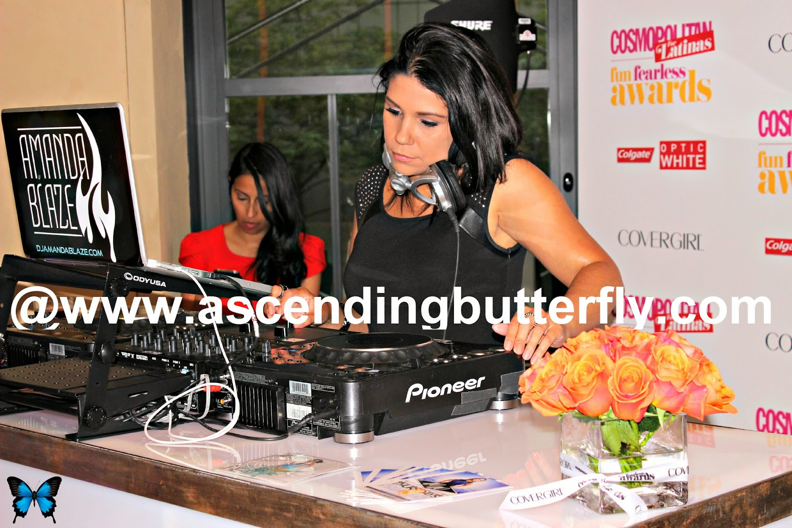 DJ Amanda Blaze spins at Cosmopolitan for Latinas Fun Fearless Awards 2014 in New York City