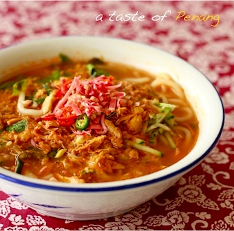 penang best authentic asam laksa recipe torch ginger spice