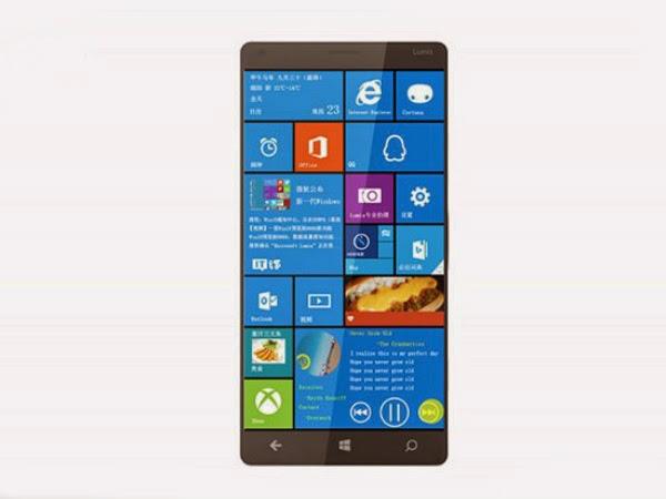 Microsoft Lumia 1030 nouveau smartphone