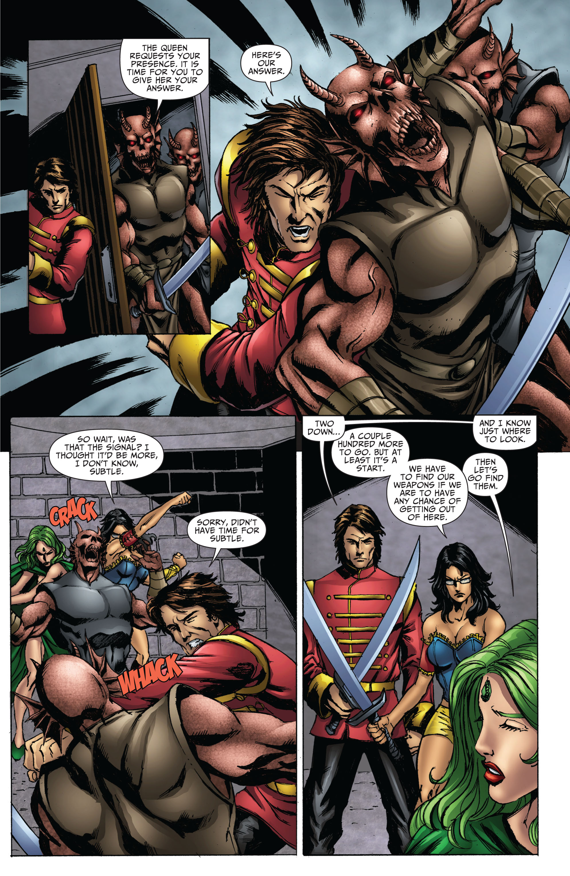 Grimm Fairy Tales (2005) Issue #70 #73 - English 8