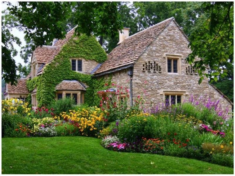 Englisches Cottage dippeldi scribble impressionen cottage gärten