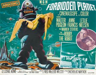 Poster - Forbidden Planet (1956)
