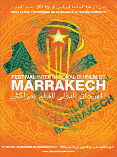 Affiche du 12ème Festival International du Film de Marrakech