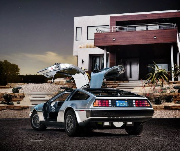 Electric DeLorean DMCEV