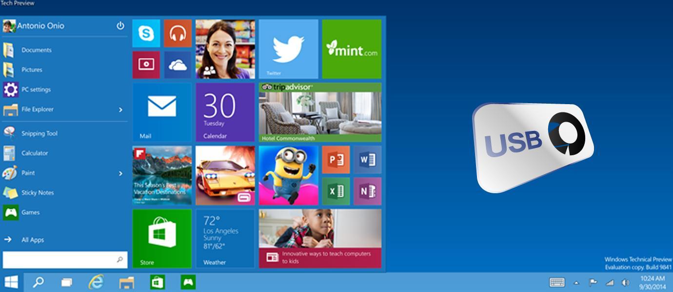 Cara Install Windows 10 dengan Menggunakan Flashdisk