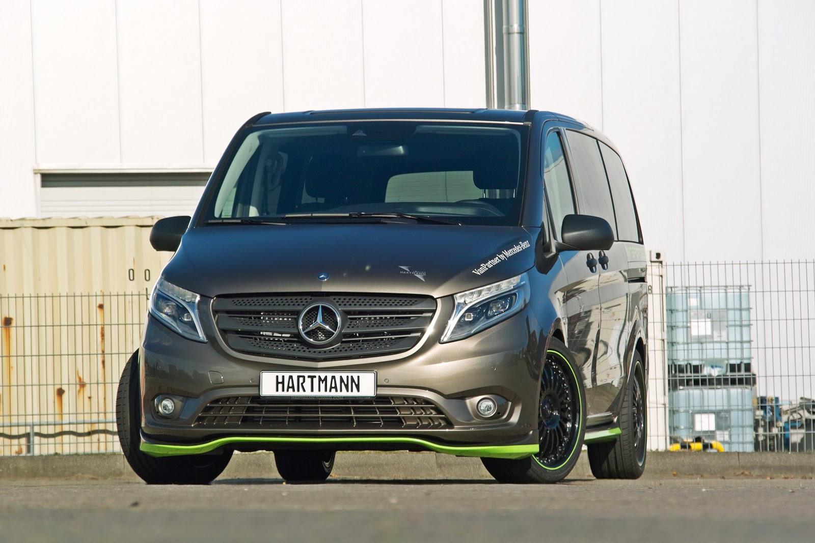 Hartmann S First Tune Of New Mercedes V Class Or Metris