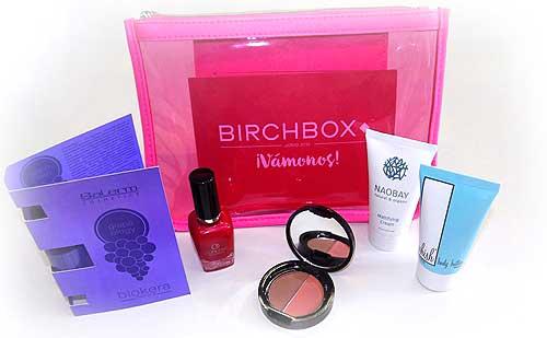 Birchbox Junio 2015 neceser