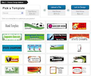 Pick a Soccer Banner Template to Customize