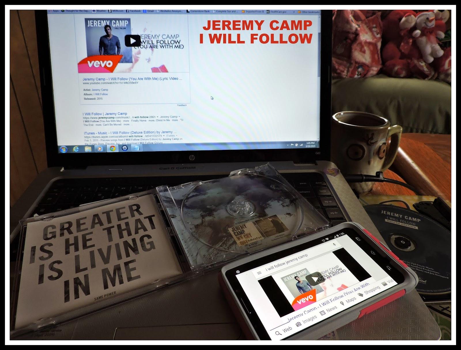 JEREMY CAMP - I WILL FOLLOW