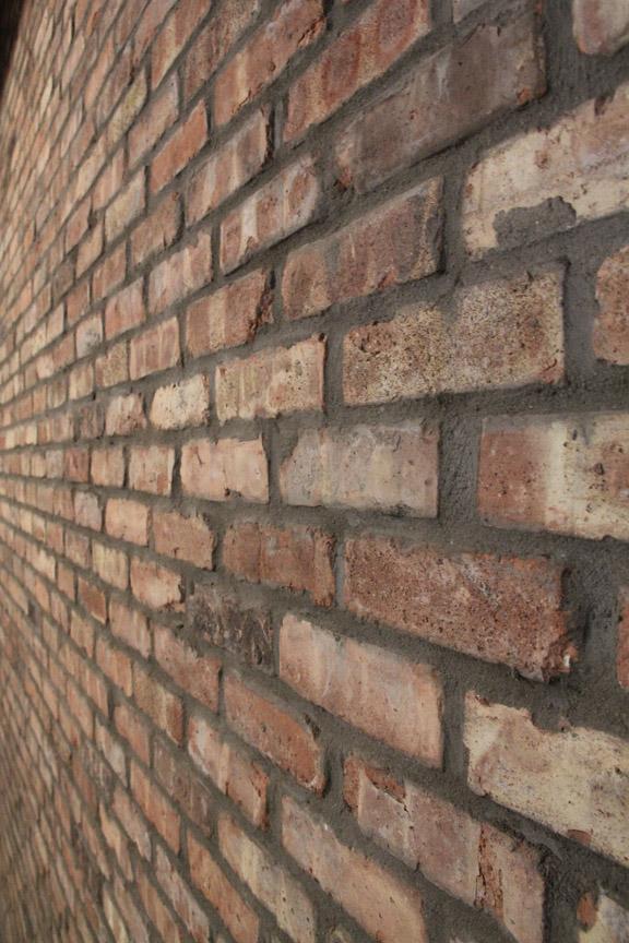 Chicago Cut Brick Veneer Installation Masonry Picture