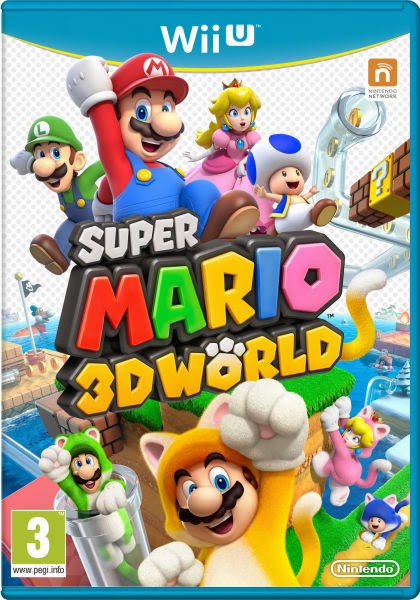 Super Mario 3D World For The Wii U