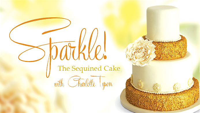 Sparkle Wedding Cake Tutorial