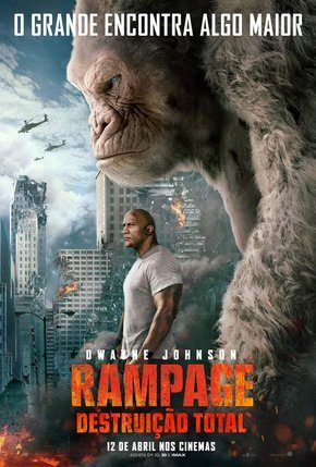 Filme Rampage - Destruição Total - Blu-Ray Legendado    Torrent Download