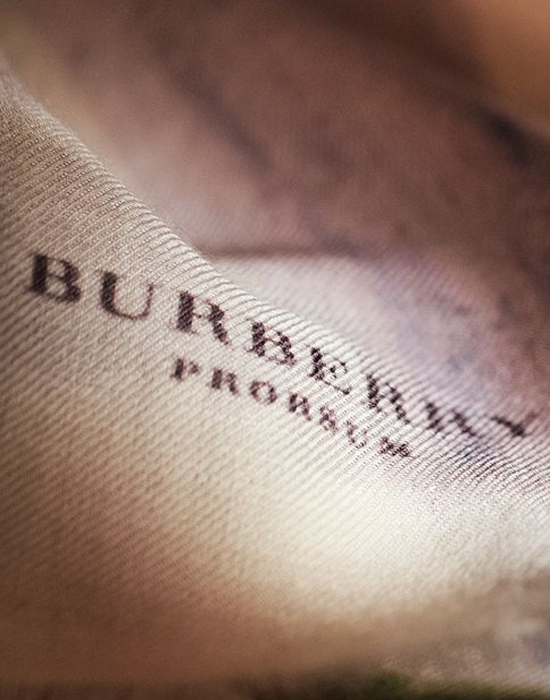 Burberry Prorsum Fall 2014 details of the womens wear collection