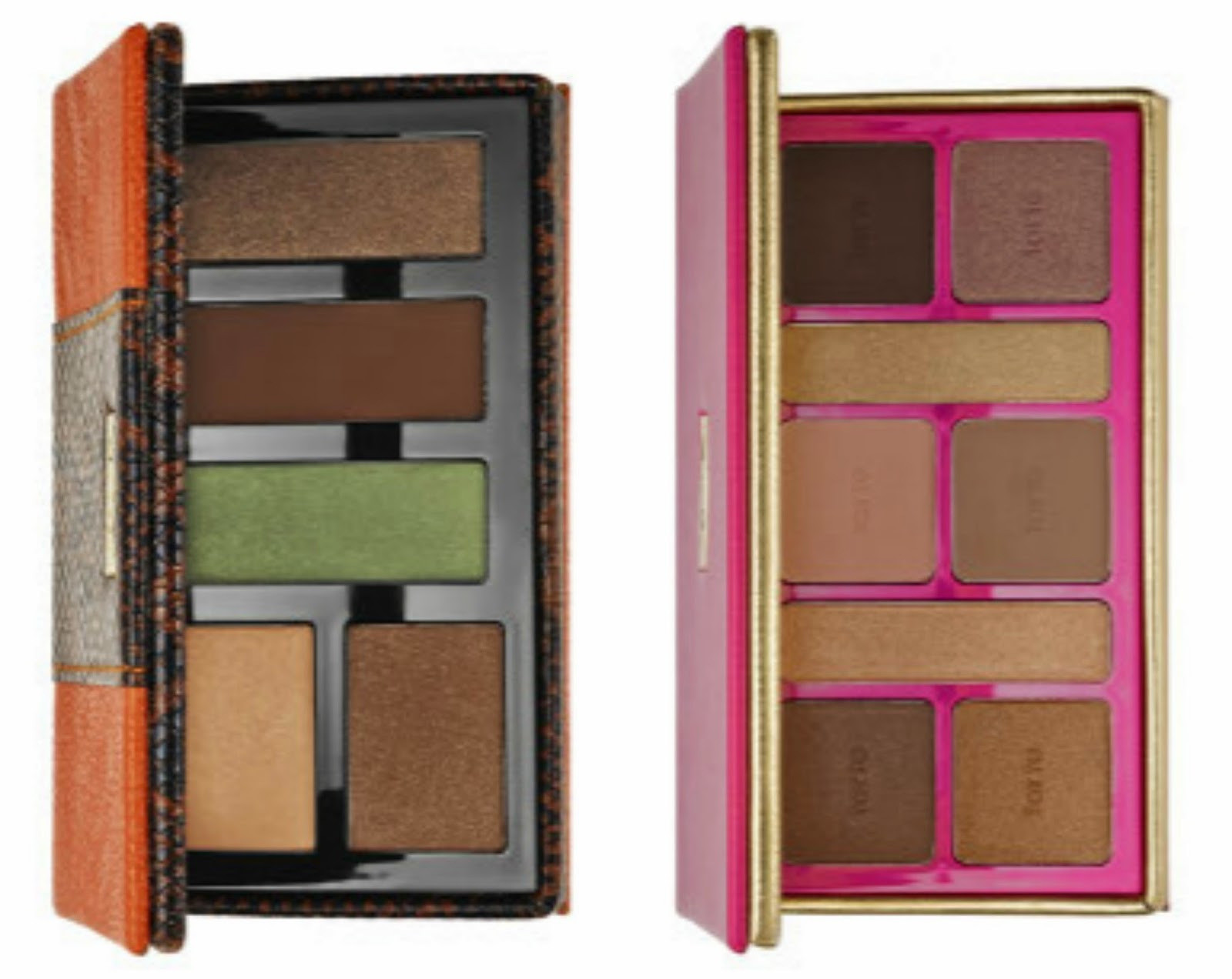 Tarte Cosmetics Quintessentially Travel Chic Shadow Palette, Sephora, Limited Edition, Tarte Cosmetics Sultry Sunset Amazonian Clay Collector's Palette, Sephora, Limited Edition