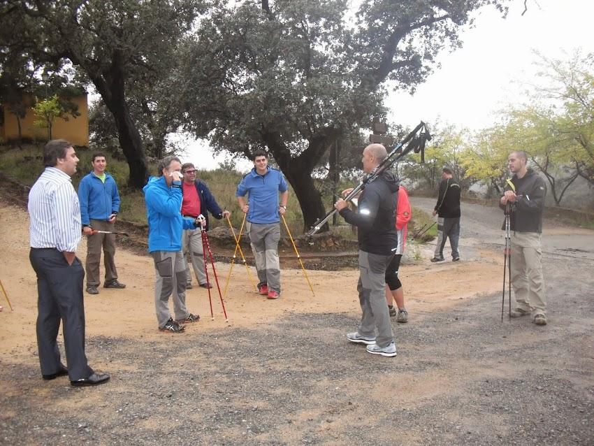 CURSOS NORDIC WALKING SANTA ANA LA REAL - OCTUBRE 2013