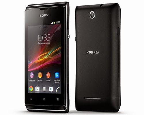 Harga smartphone Sony Xperia E