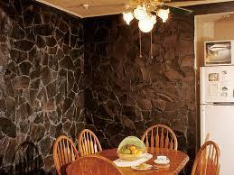 Contoh Gambar Tembok Rumah Dengan Hiasan Batu Alam