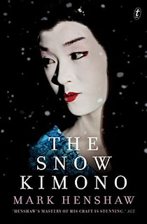 Review of the novel The Snow Kimono by Mark Henshaw