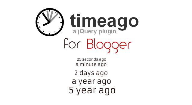 timeago for blogger