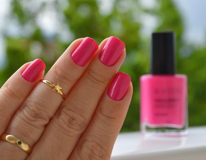 Esmalte da semana, Unhas da Jana, nail, esmalte, Avon, viva pink, pink, rosa, Avon