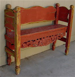 Antique Bench (SOLD)