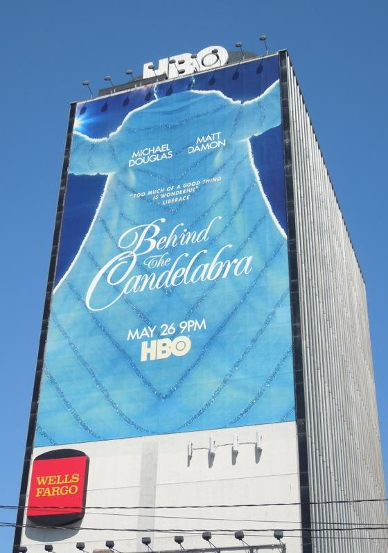 Giant Behind Candelabra billboard