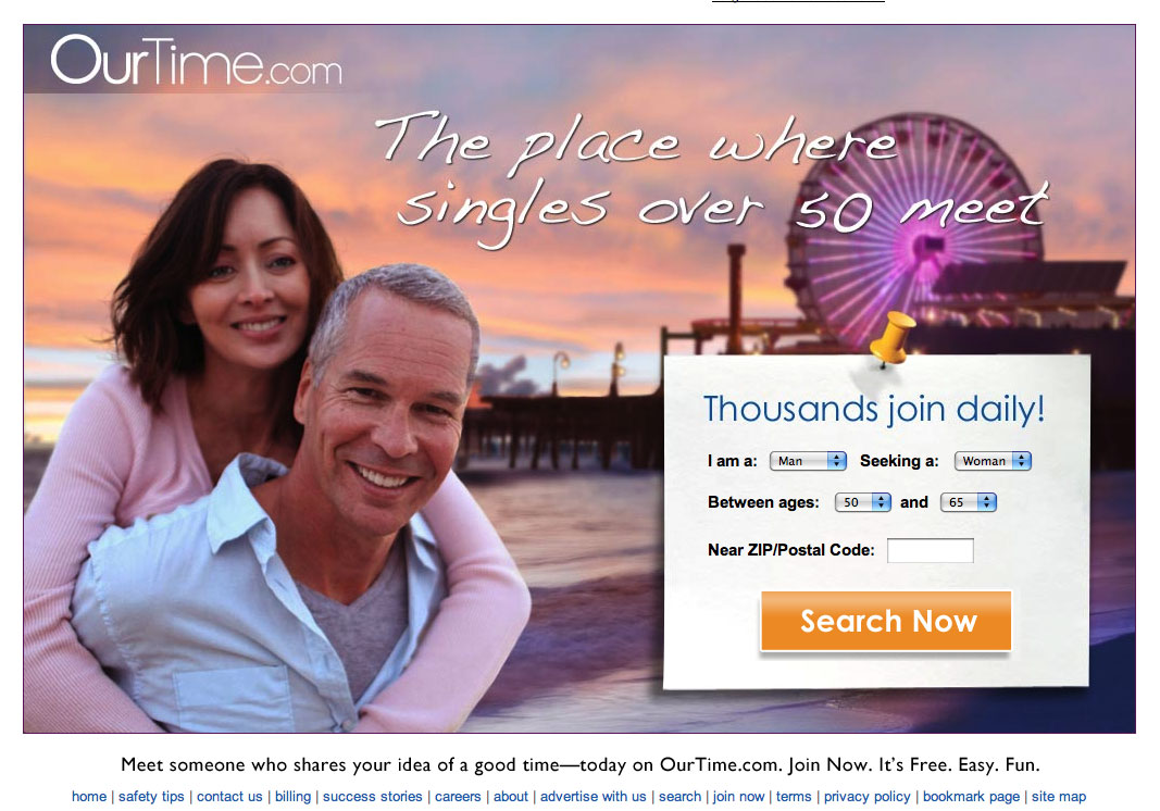 Ourtime.com ourtime our time login in dating site review