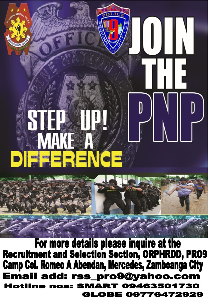 PRO9 is in need of 1, 090 new police officers for 2018