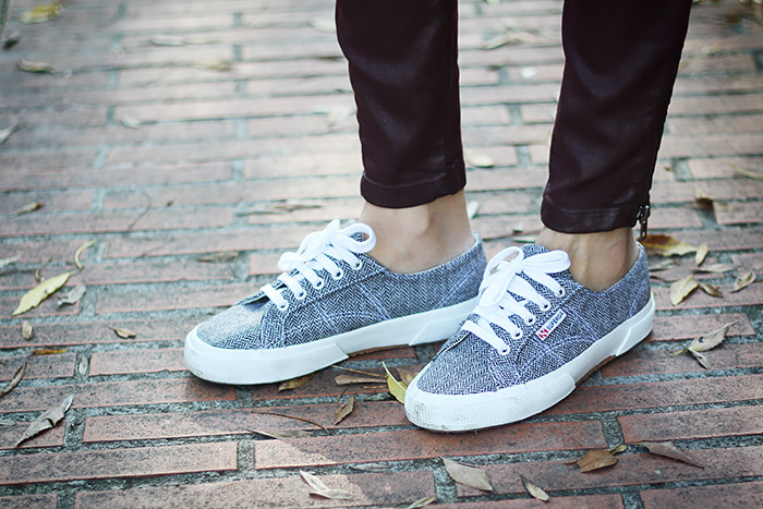 casual weekend wear, superga sneakers